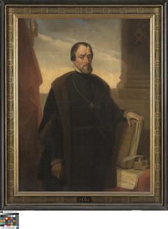 Portret van Cornelis Van Baesdorp, burgemeester van Brugge