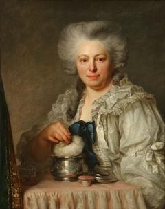 Portret van Mme Depestre, gravin van Seneffe