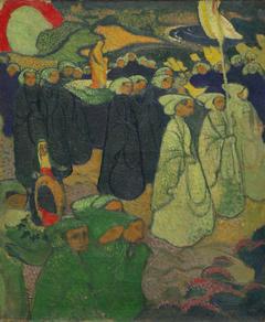 Procession on Pardon at Perros-Guirec