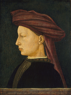 Profile Portrait of a Young Man
