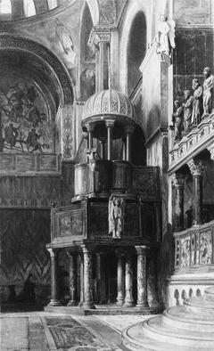 Pulpit in Saint Mark's, Venice
