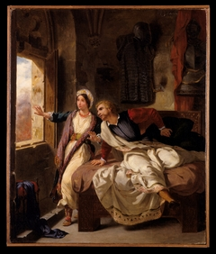 Rebecca and the Wounded Ivanhoe