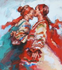 ROSYJSKIE TANCERKI LUDOWE / RUSSIAN FOLK DANCERS