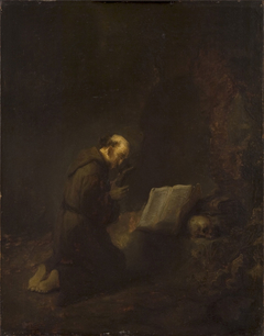 Saint Francis of Assisi Praying