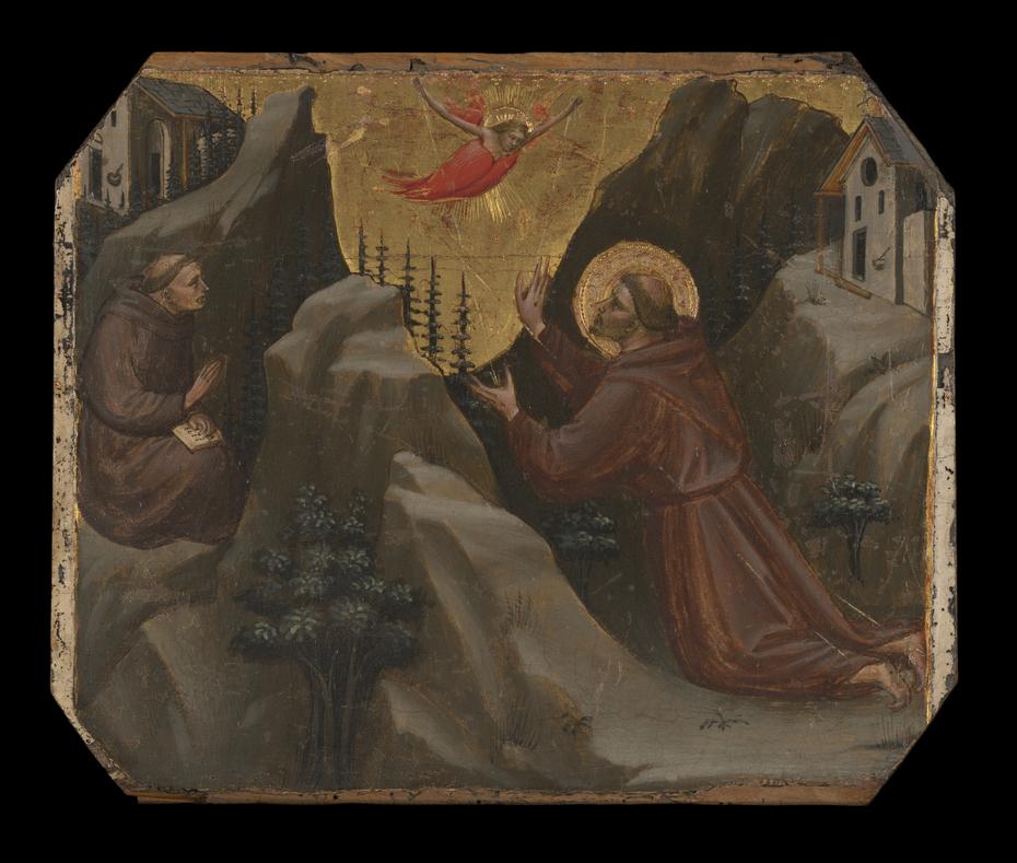 Saint Francis Receiving theStigmata