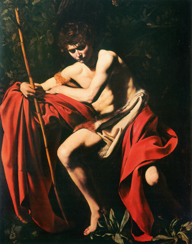 Saint John the Baptist in the desert