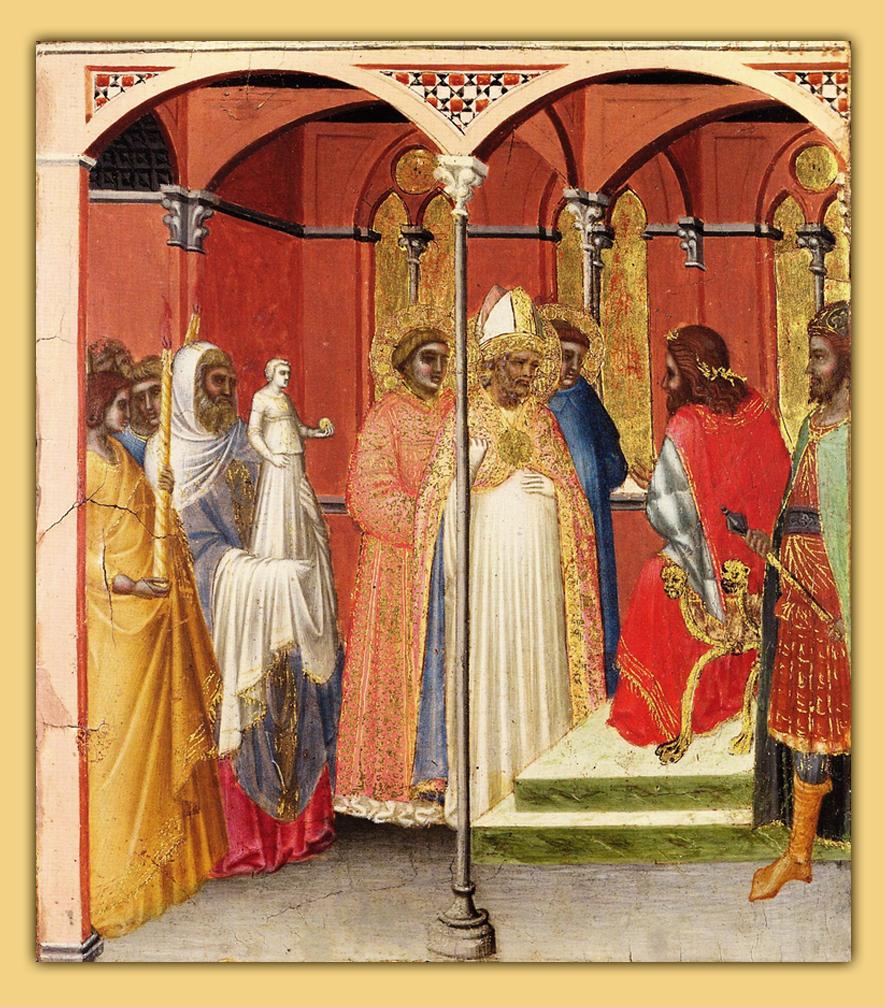 Saint Sabinus before the Governor of Tuscany (?)