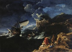 Seascape with Jonah and the Whale