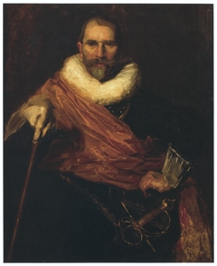 Self-portrait dressed as Johan Claesz Loo by Frans Hals