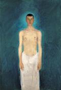 Semi-Nude Self-Portrait