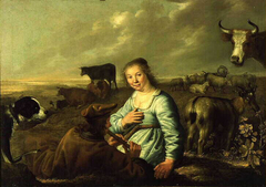 Shepherds in a Landscape
