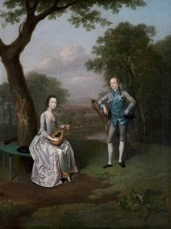 Sir Nathaniel (1726 - 1804) and Lady Caroline Curzon (1733 - 1812)