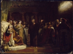 Study for Belshazzar's Feast
