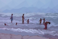 "Summertime (serie) ""Paseantes nº8"""