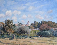The Bell Tower at Noisy-le-Roi, Autumn