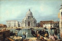 The Church of Santa Maria della Salute, Venice