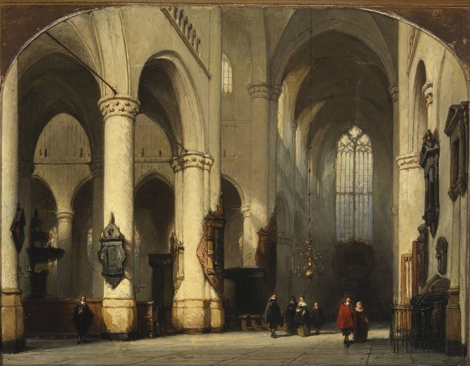 The Church of St Peter in Leiden