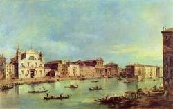 The Grand Canal with Santa Lucia and Santa Maria di Nazareth