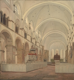 The Interior of Ribe Cathedral