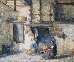 The Kitchen in Piette's House, Montfoucault