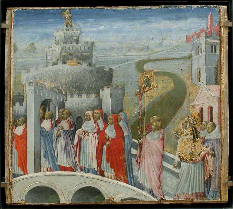 The Procession of St. Gregory to the Castel Sant' Angelo