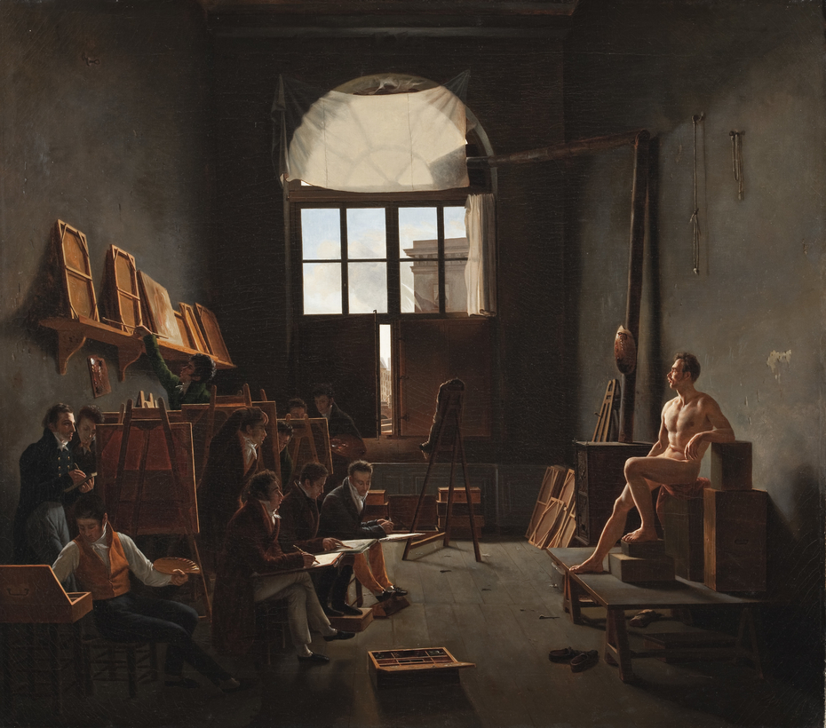 The Studio of Jacques-Louis David