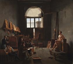The Studio of Jacques-Louis David