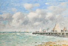 Trouville Pier