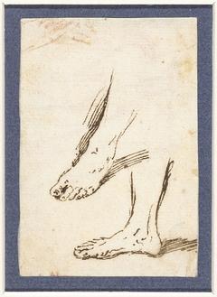 Twee schetsen van zittende vrouwen