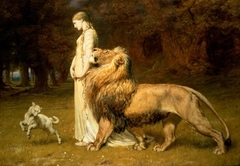 Una and the Lion