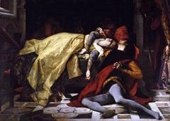 Death of Francesca da Rimini and of Paolo Malatesta