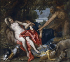Diana and a Nymph Discovered by a Satyr