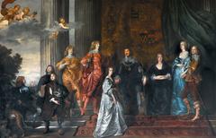Philip Herbert, quarto conte di Pembroke, e la sua famiglia