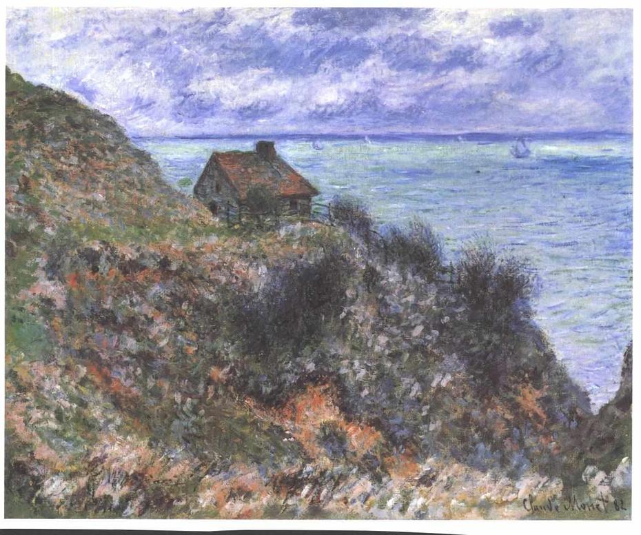 La Maison du pêcheur, temps couvert