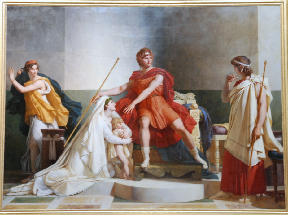Andromache and Pyrrhus