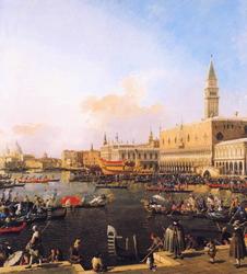 Venice, Bacino di San Marco on Ascension Day