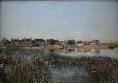 View of Saint-Mammès