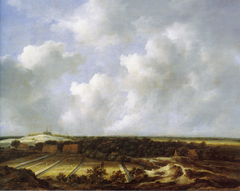 View of the Dunes near Bloemendaal with Bleaching Fields