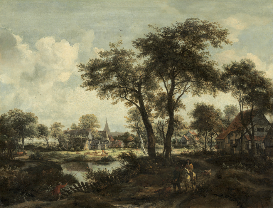 Village near a Pool