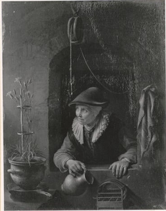 Woman with a Jug in a Window