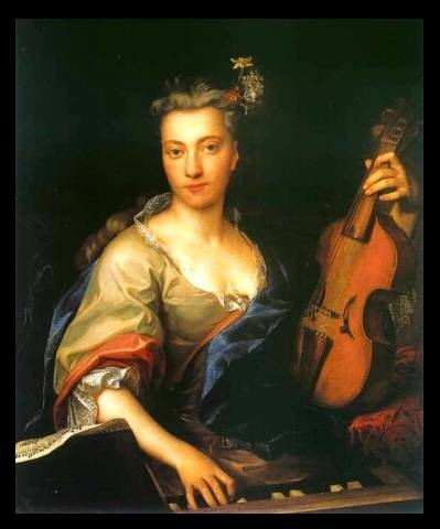 Woman with a Viola d'Amore (Portrait of Maria Helena Sabina Imhoff?)