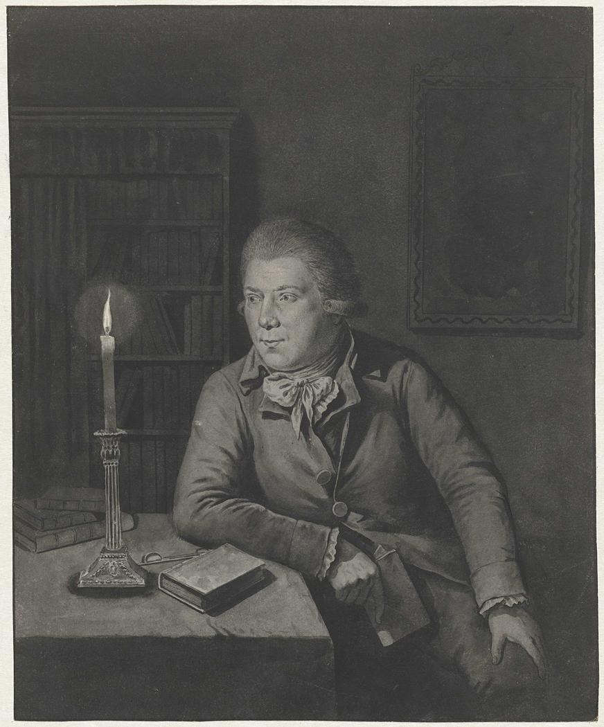 Zelfportret van Johannes Janson