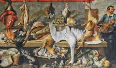 A Butcher's Stall
