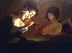 """A Music Party"""" (van Honthorst)."""
