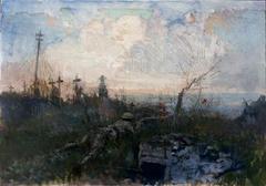 A Sniper in the Cemetery, Neuville-Vitasse