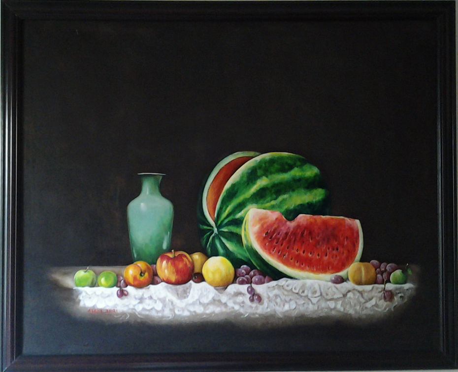 A still life paintnig