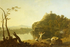 A Summer Evening (On the Arno - I) (previously called Dolbadarn Castle)