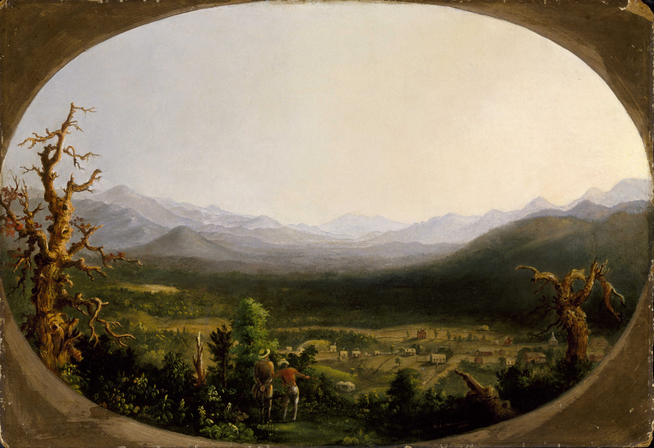 A View of Asheville, North Carolina