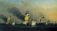 Admiral Anson's Action off Cape Finisterre 1747