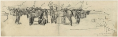 Afgezadelde cavalerie